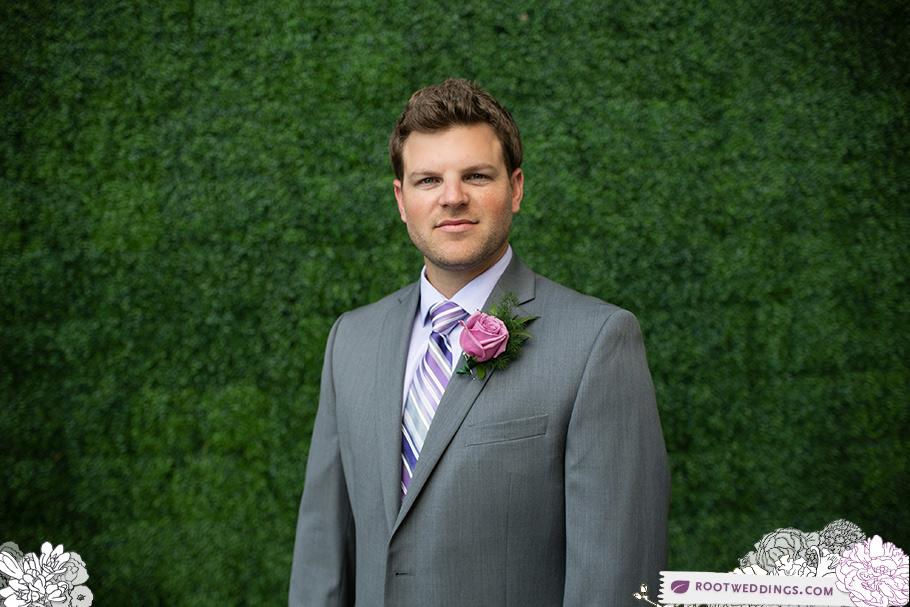 Root Weddings : W Hotel Ft. Lauderdale Groom Portrait