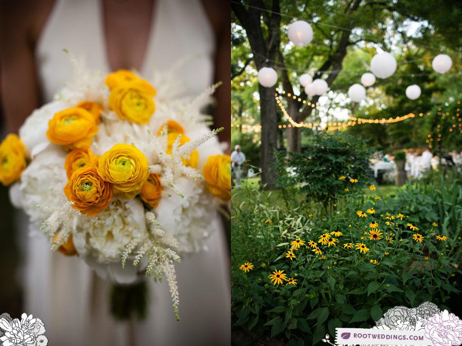 Root Weddings - Nashville Backyard Wedding Bouquet