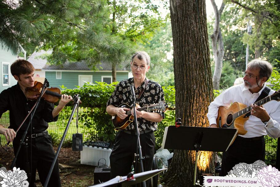 Root Weddings - Nashville Backyard Wedding Gypsy Band