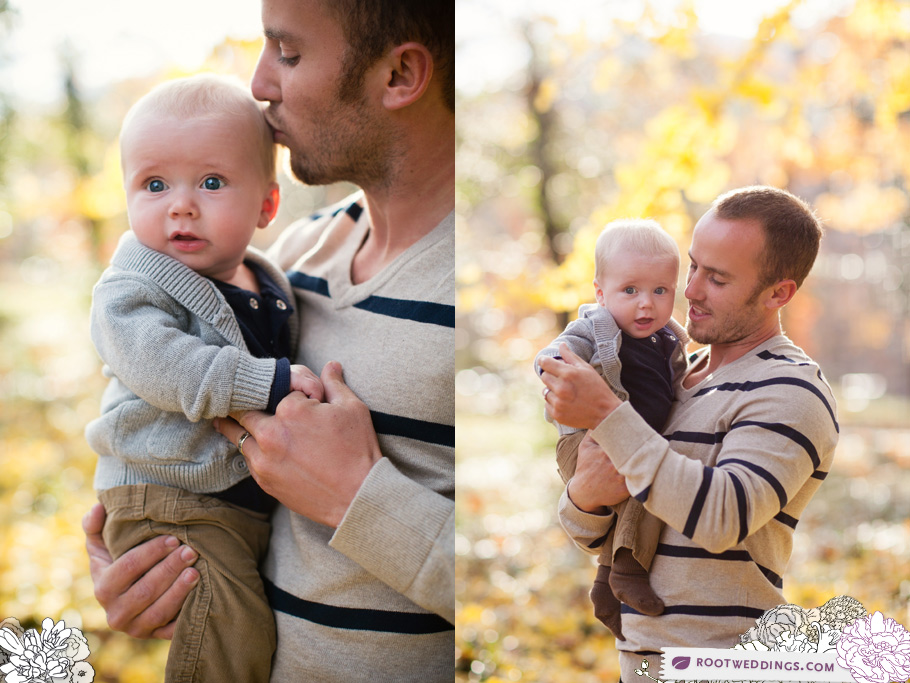 Root Weddings Vanderbilt Campus Nashville Fall Family Session