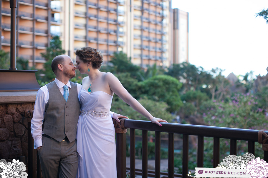 Disney's Aulani Wedding Vow Renewal