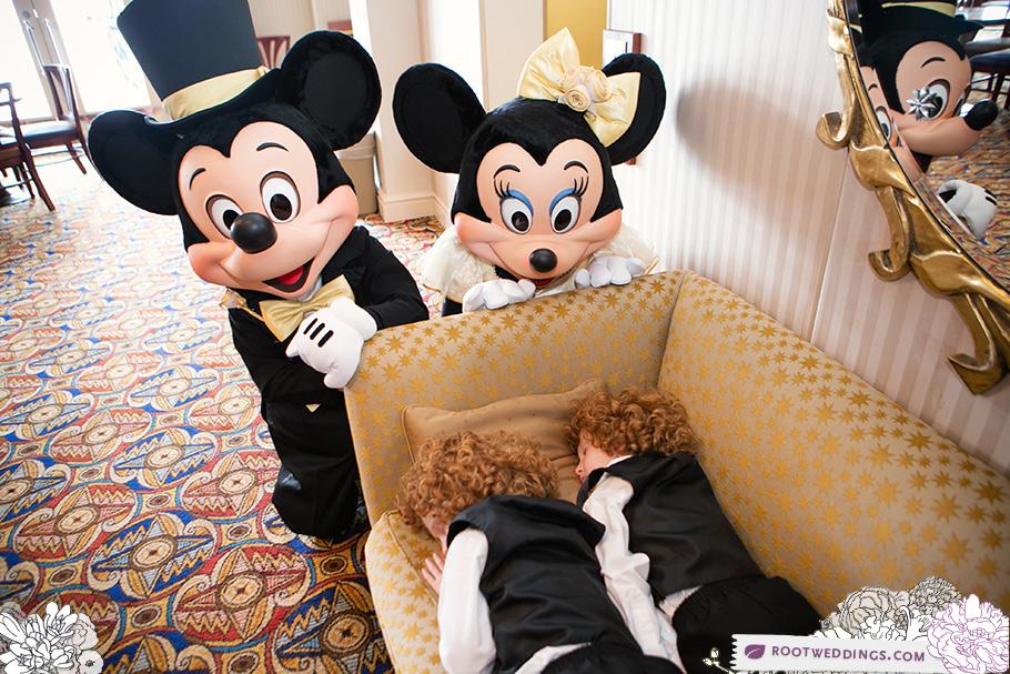 Disney Atlantic Dance Hall Wedding Reception Mickey Minnie