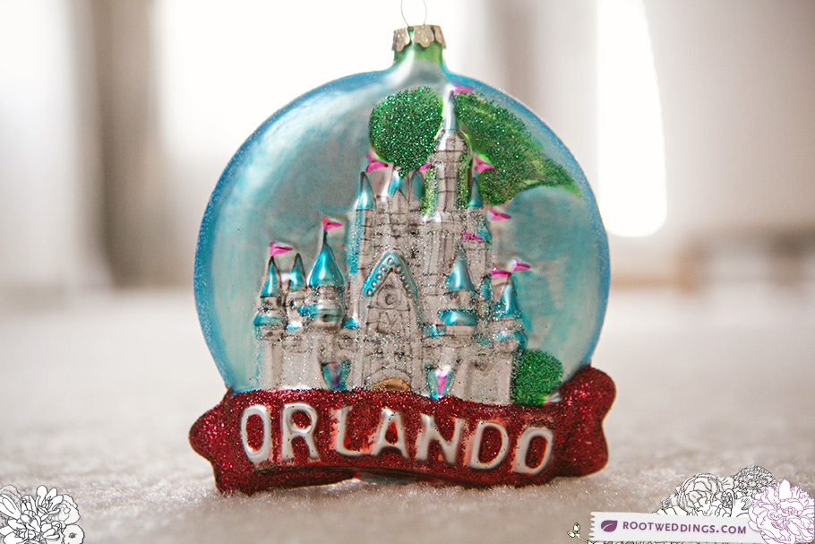 Orlando Christmas Ornament