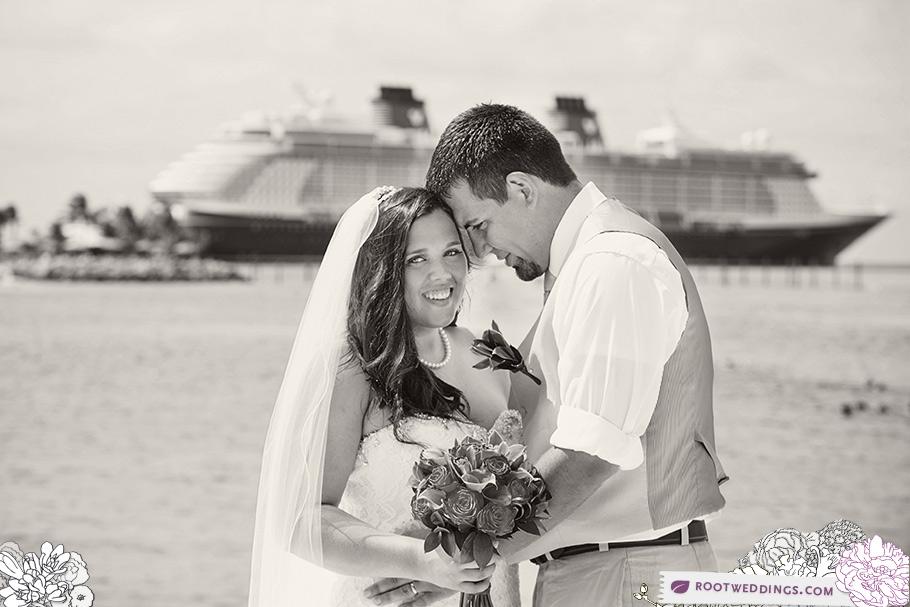 Disney Cruise Line Wedding Disney Dream Castaway Cay