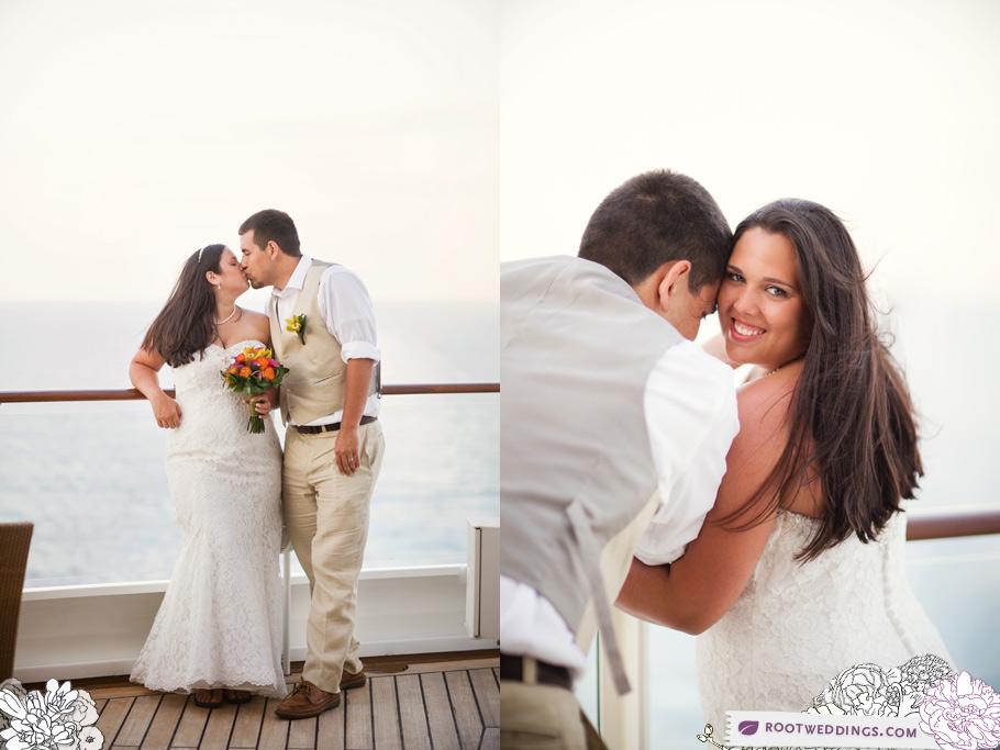 Disney Cruise Line Wedding Disney Dream Castaway Cay Palo Balcony