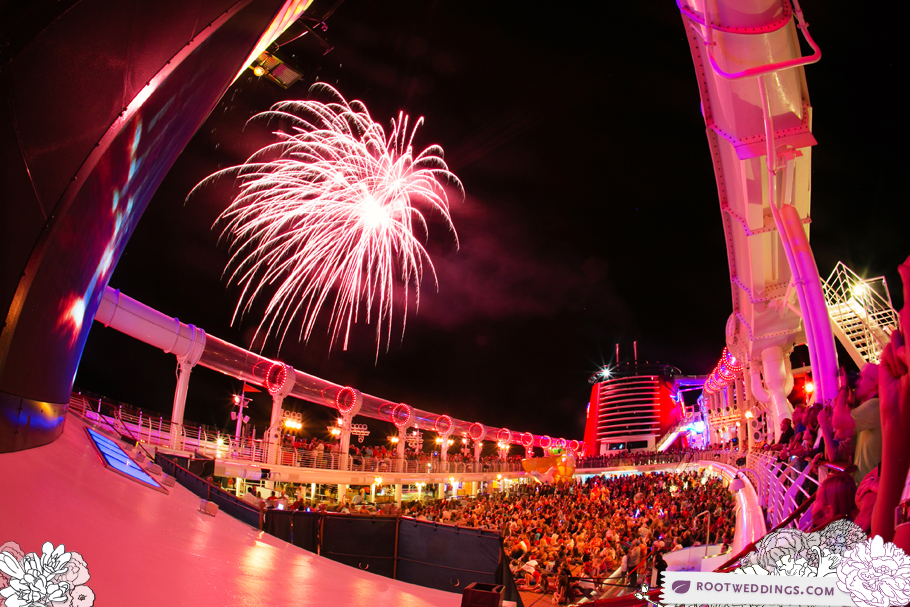 Disney Cruise Line Disney Dream Pirate Night Fireworks