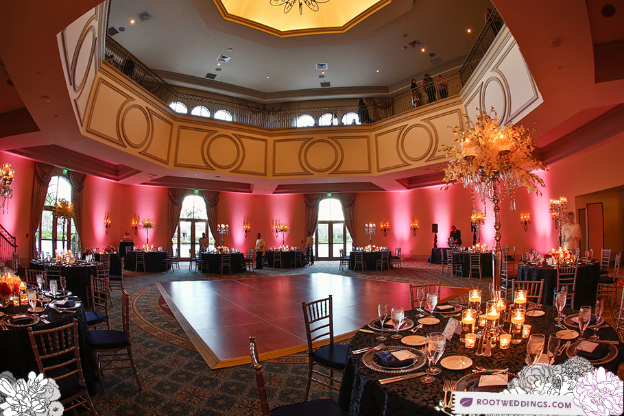 Butler Ballroom Rosen Shingle Creek Orlando Wedding Tracy Marini Eventfully Yours Greenery Productions