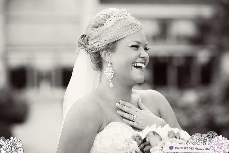 Rosen Shingle Creek Orlando Wedding Bride Laughing