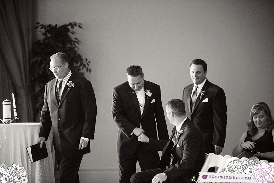 RootWeRosen Shingle Creek Orlando Wedding Groom Fistbumpddings_19