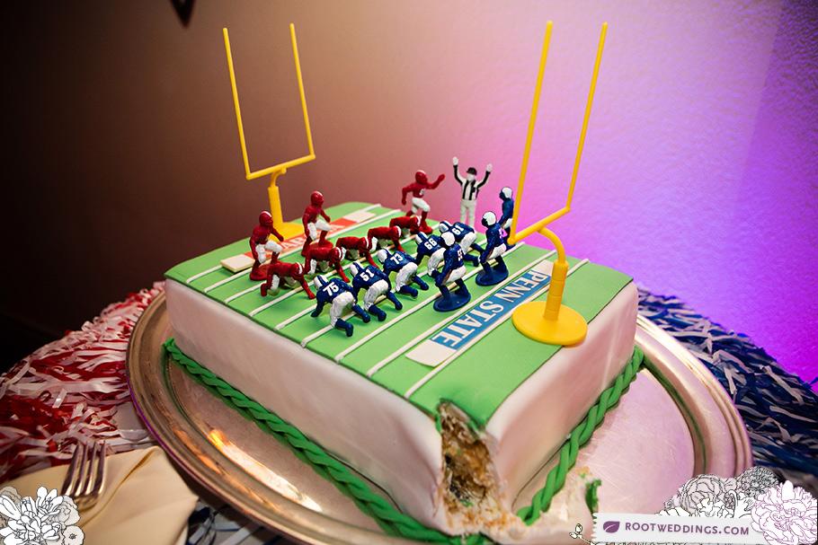 Groom's Cake Auburn vs. Penn State