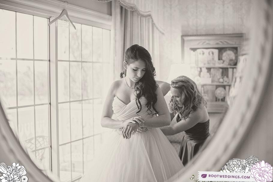 Walt Disney World Grand Floridian Wedding Bride Getting Ready