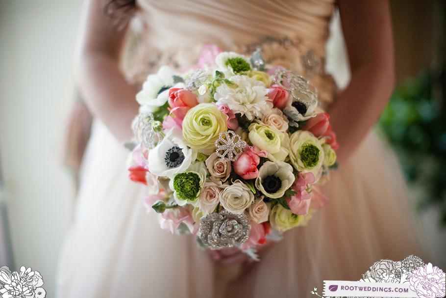 Walt Disney World Bridal Bouquet