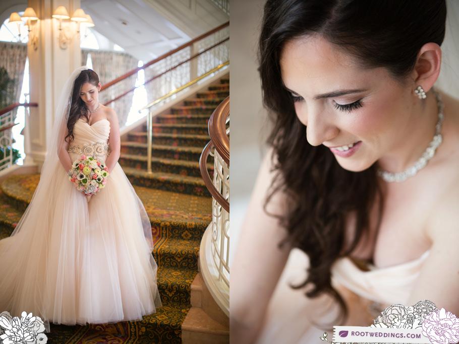 Walt Disney World Grand Floridian Bride Staircase