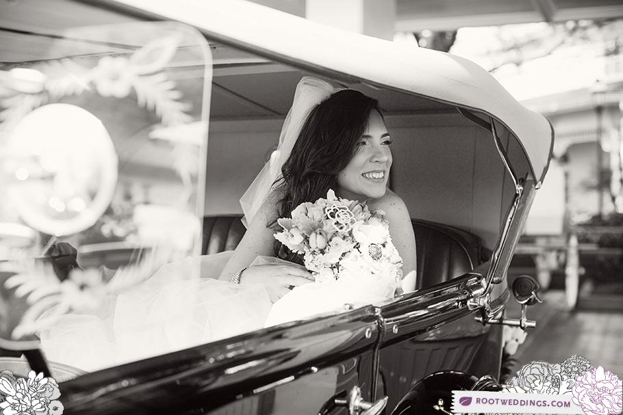Bride Getaway Car