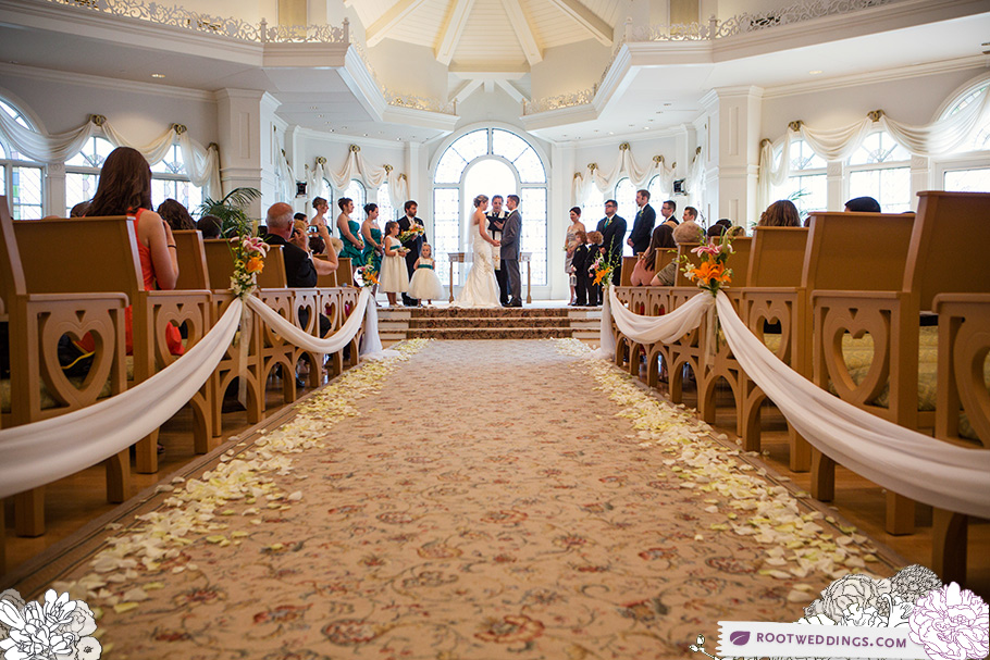 Walt Disney World Grand Floridian Wedding Pavilion Ceremony