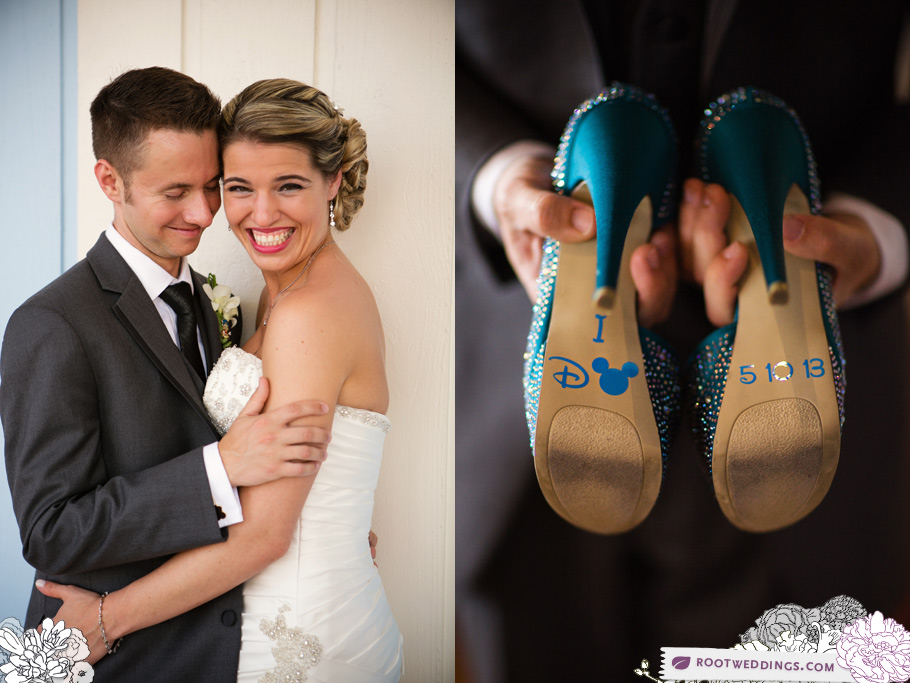 Walt Disney World Wedding Mickey Shoes