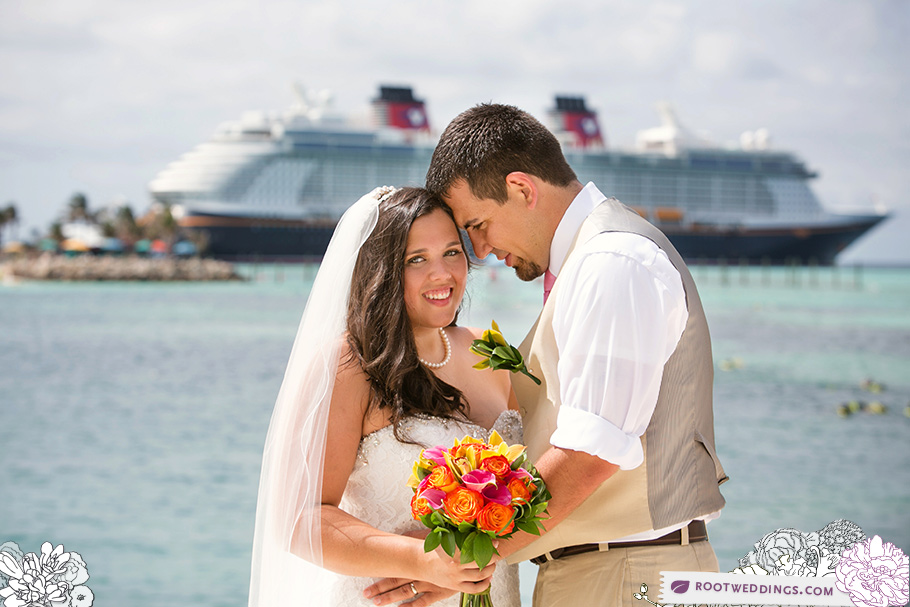 Disney Cruise Line Castaway Cay Wedding