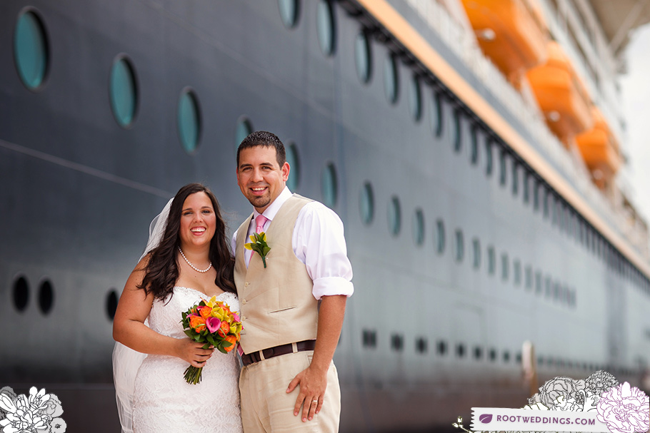 Disney Cruiseline Wedding on Castaway Cay - Disney Dream