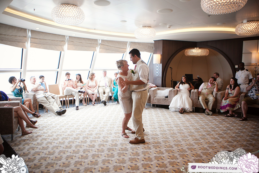 Disney Cruise Line Mother / Son Dance