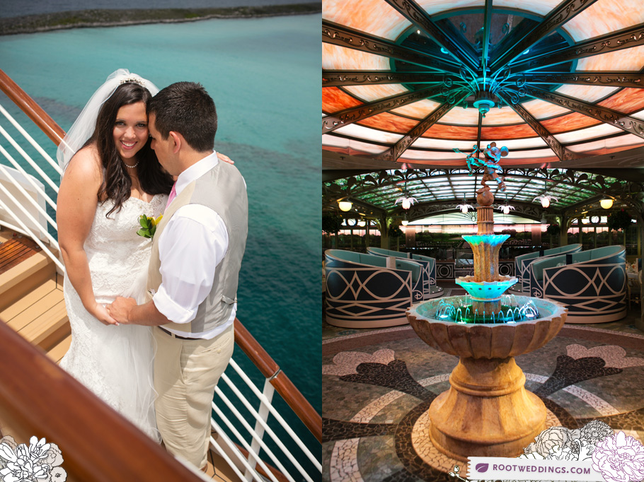 Disney Cruise Line Wedding - Enchanted Garden