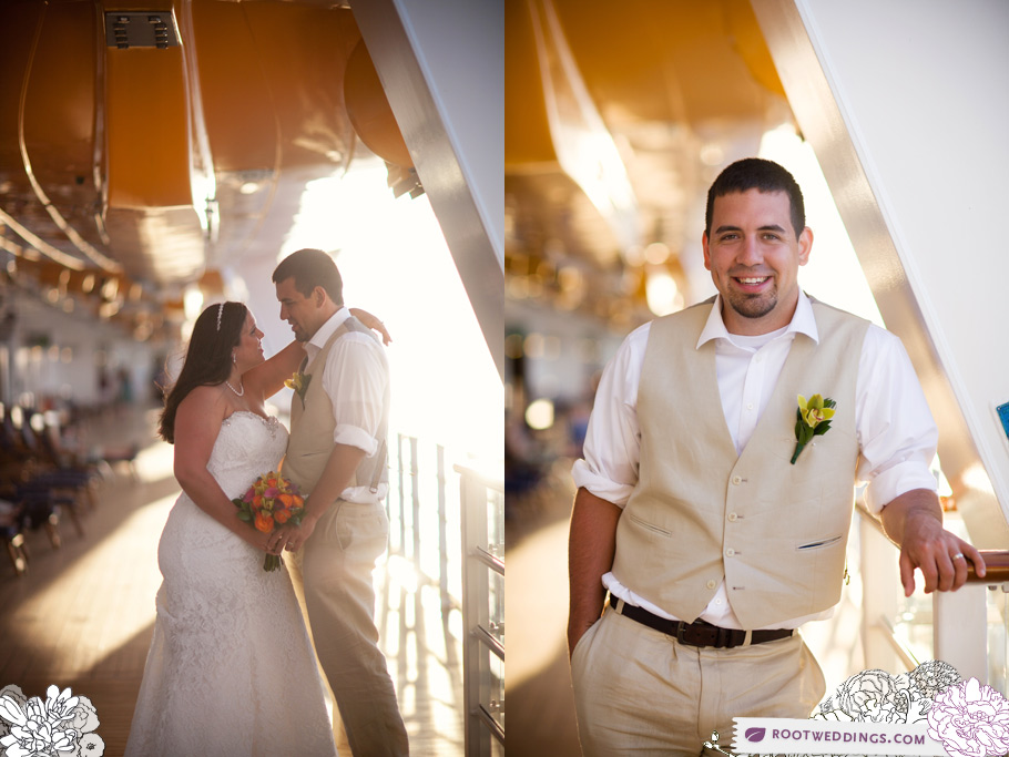 Disney Cruise Line Wedding - Disney Dream Deck 4