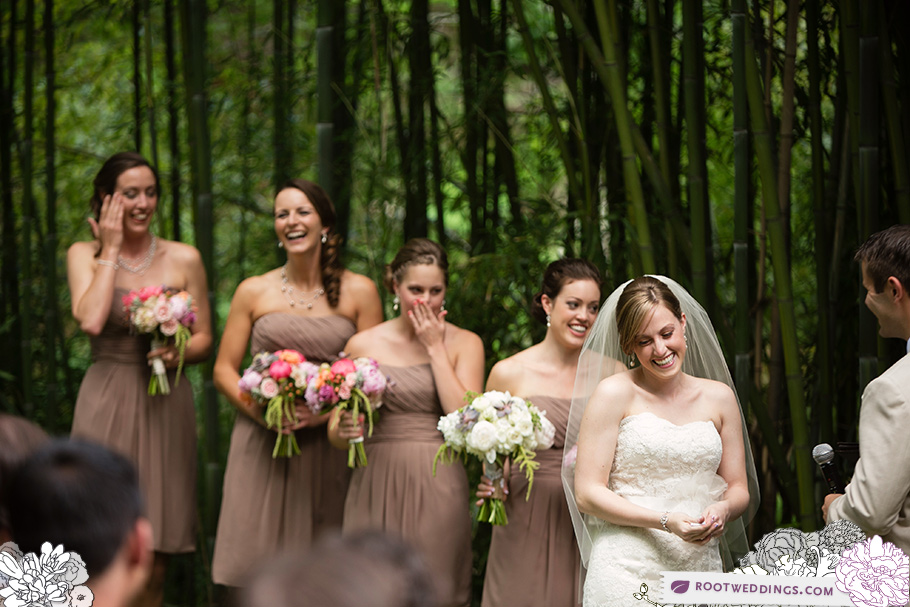 Personalized Wedding Vows : The Old Mill in Rose Valley, PA