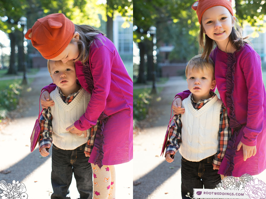 Vanderbilt Family Session Nashville Portrait and Wedding Photographers Gymboree Fox Hat