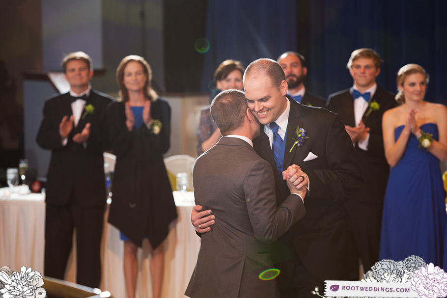 Walt Disney World Same Sex Gay Wedding Reception at Atlantic Dance Hall