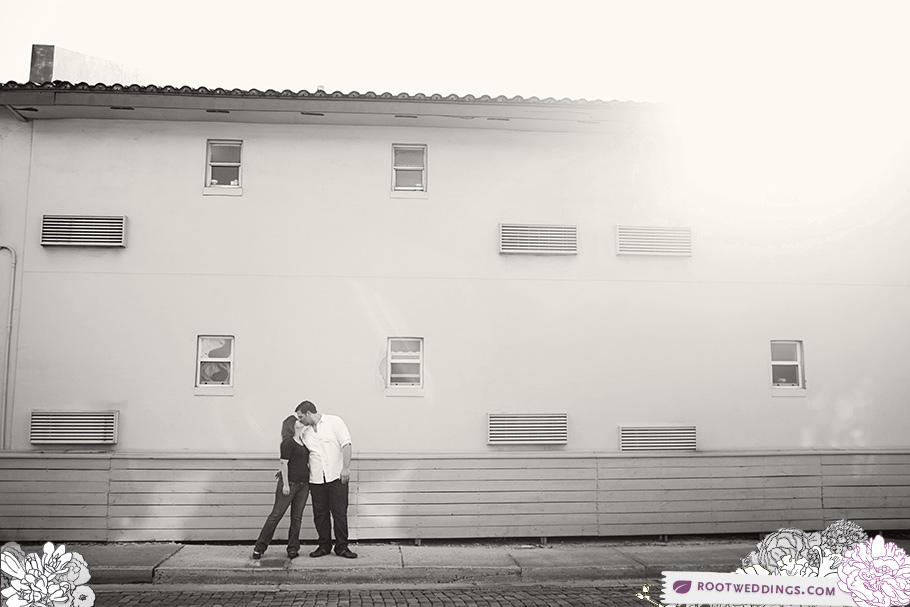 Downtown St. Augustine Florida Engagement Session