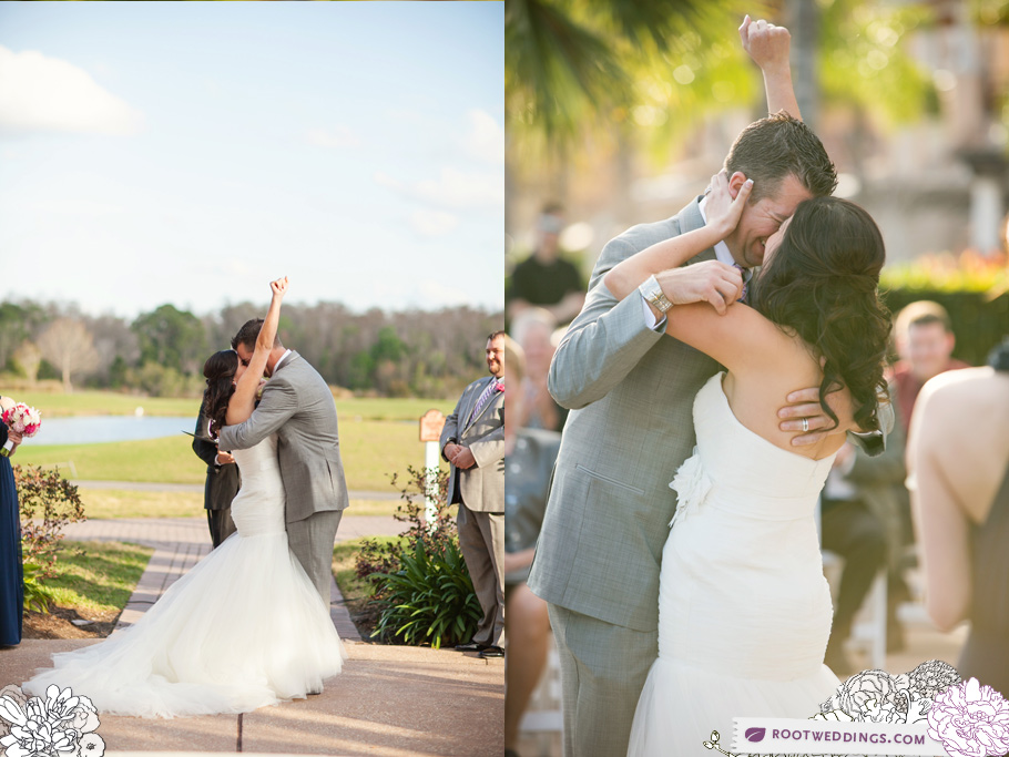 Rosen Shingle Creek Orlando Wedding Kiss