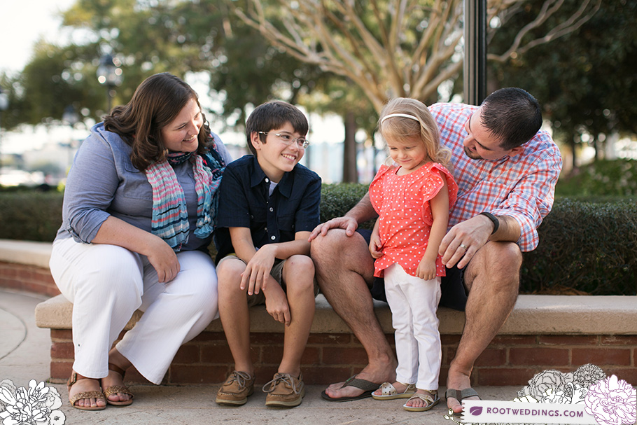 Walt Disney World Boardwalk Inn Family Session