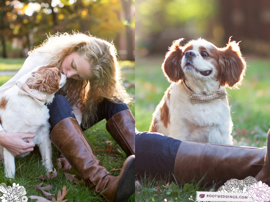 Nashville Vanderbilt Campus Family Session with Dogs!