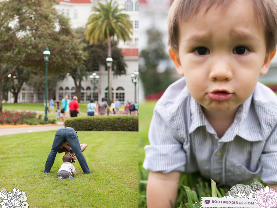 Disney Grand Floridian Family Session at Walt Disney World