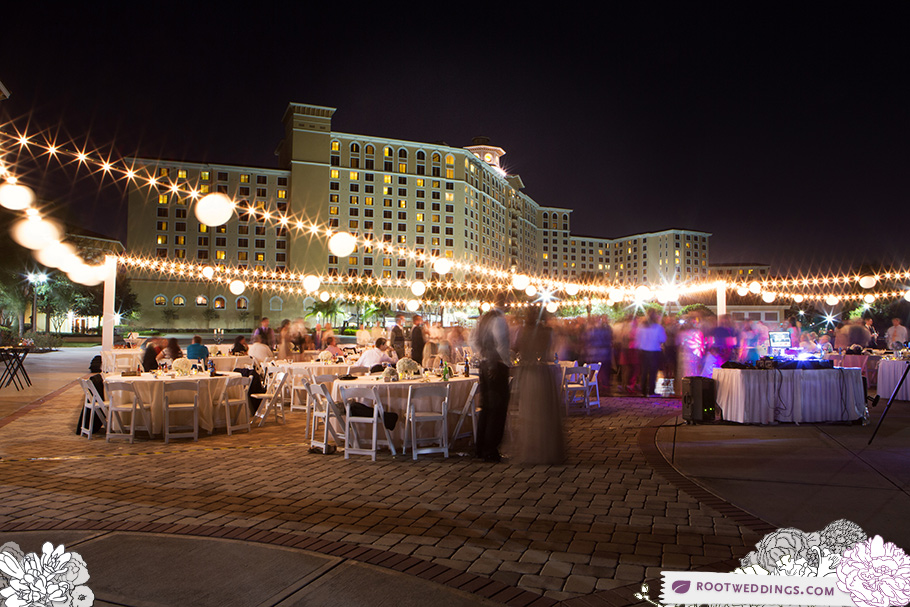 Orlando Rosen Shingle Creek Wedding Reception