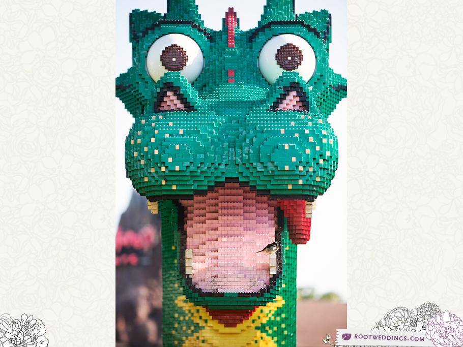 Downtown Disney Lego Dragon