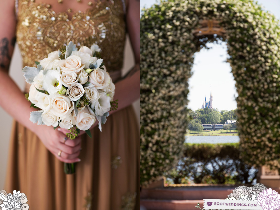 Disney Wedding Pavilion Ceremony Grand Floridian