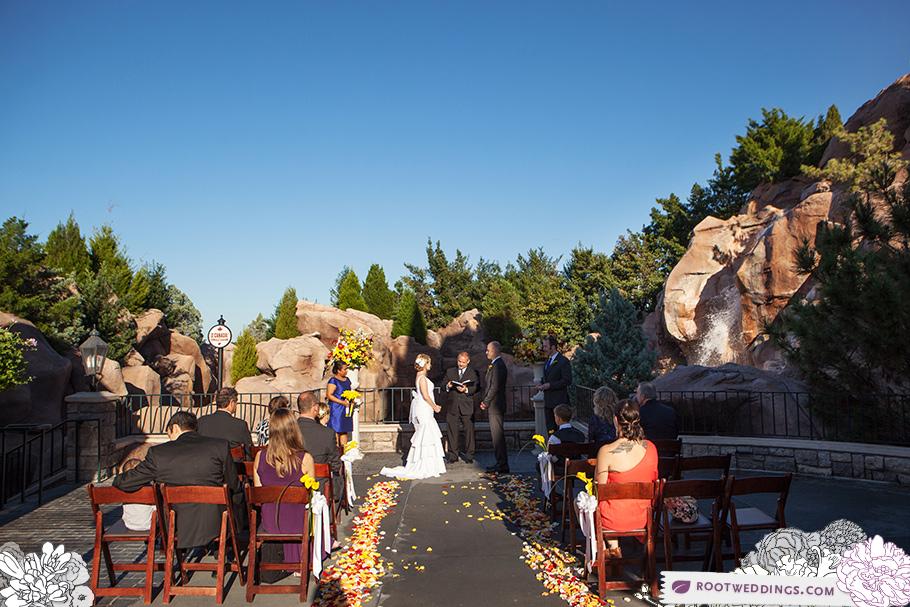 Disney World Epcot Canada Wedding