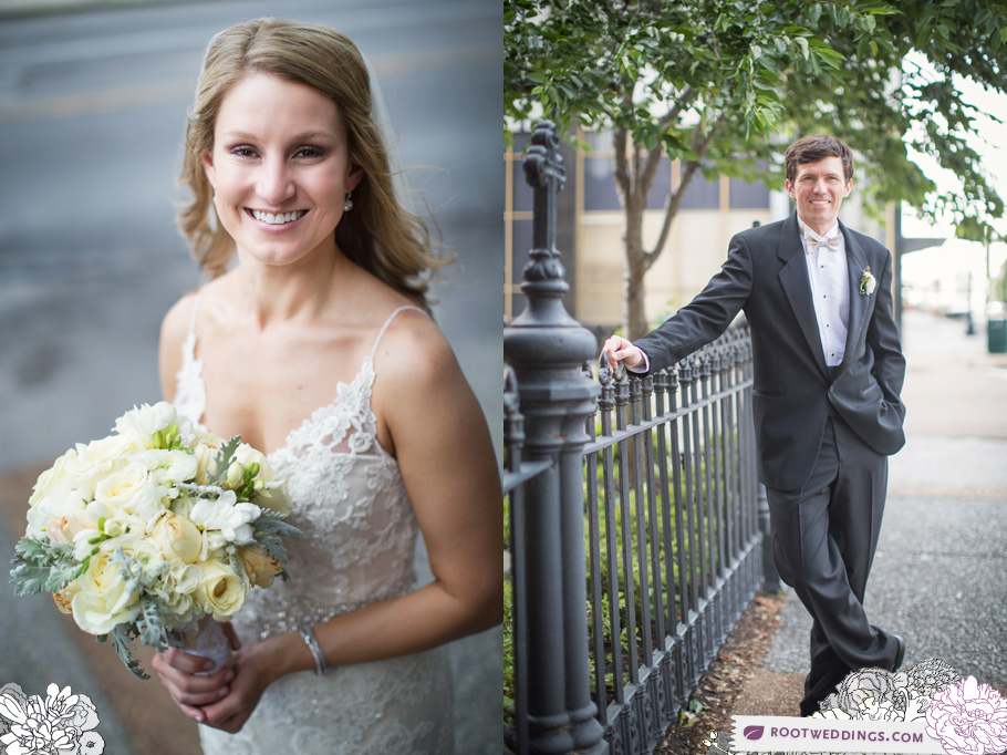 Downtown Memphis Peabody Hotel Wedding Photographer