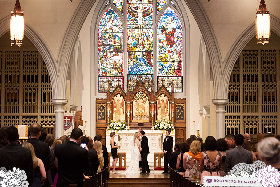 Memphis Wedding Photographer - Calvary Episcopal Church