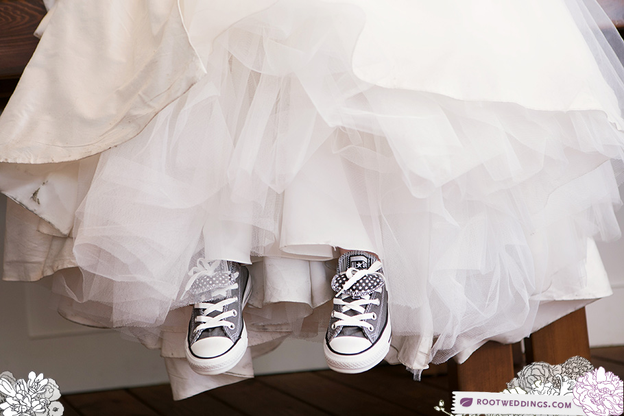Bride in Chucks