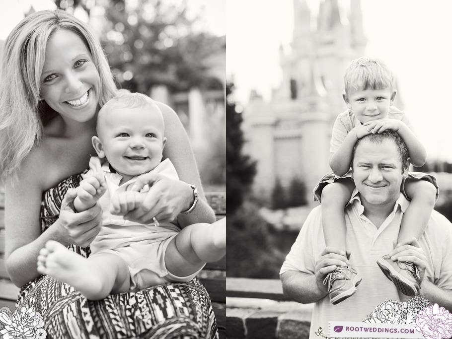 Disney World Magic Kingdom Family Session