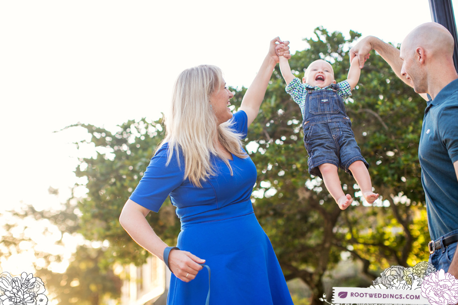 Downtown Winter Park Avenue Family Session