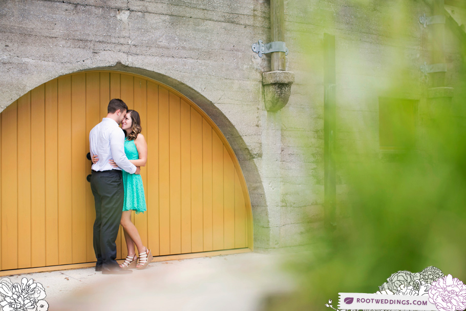 Downtown St. Augustine Engagement Session Photographer