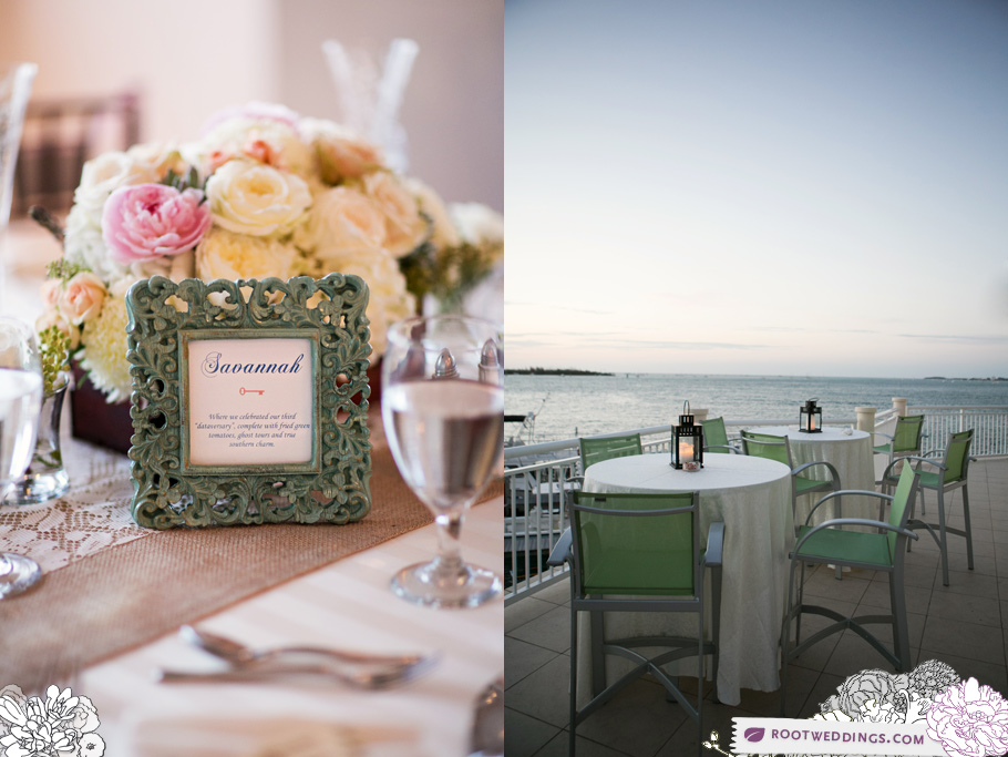 Hyatt Key West Resort Wedding Reception