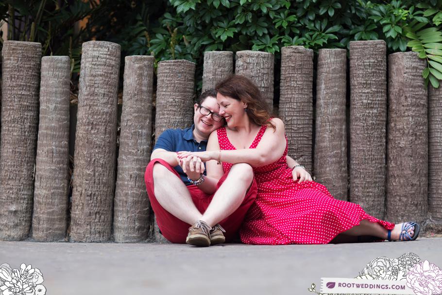 Disney's Polynesian Village Resort Engagement Session Photographer