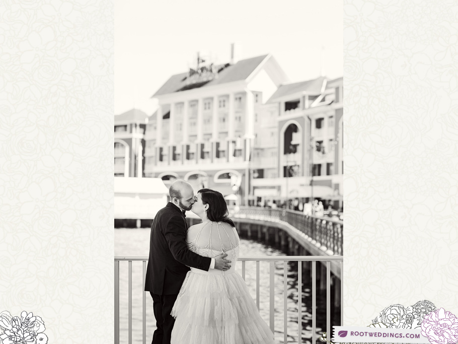 Disney Atlantic Dance Hall Wedding Reception Boardwalk Inn