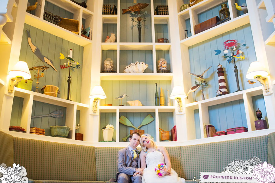Disney Yacht Beach Club Gazebo Wedding