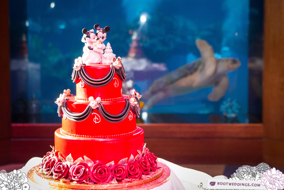 Disney Wedding Living Seas