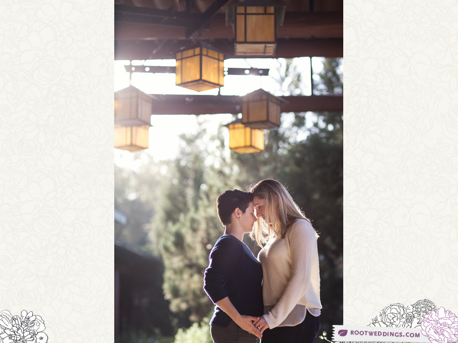 Disney World Wilderness Lodge Same Sex Lesbian Engagement Session