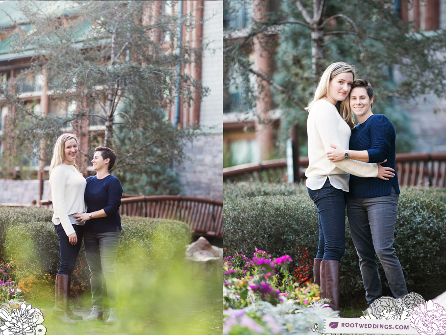 Disney Wilderness Lodge Gay Engagement Session